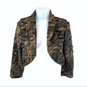 Frank Lyman Design Cropped Bolero Jacket